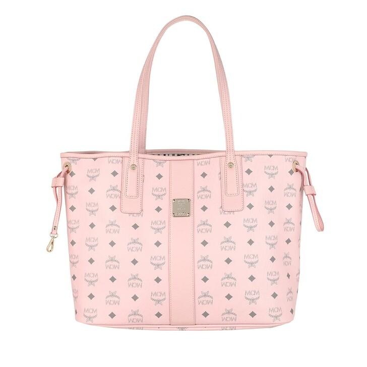 bags, MCM, Liz Shopper Medium Powder Pink