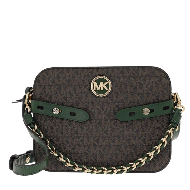 Handtasche, MICHAEL Michael Kors, Carmen Large Camera Crossbody Bag Moss