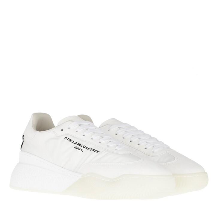 shoes, Stella McCartney, Runner Loop Sneakers White/Black