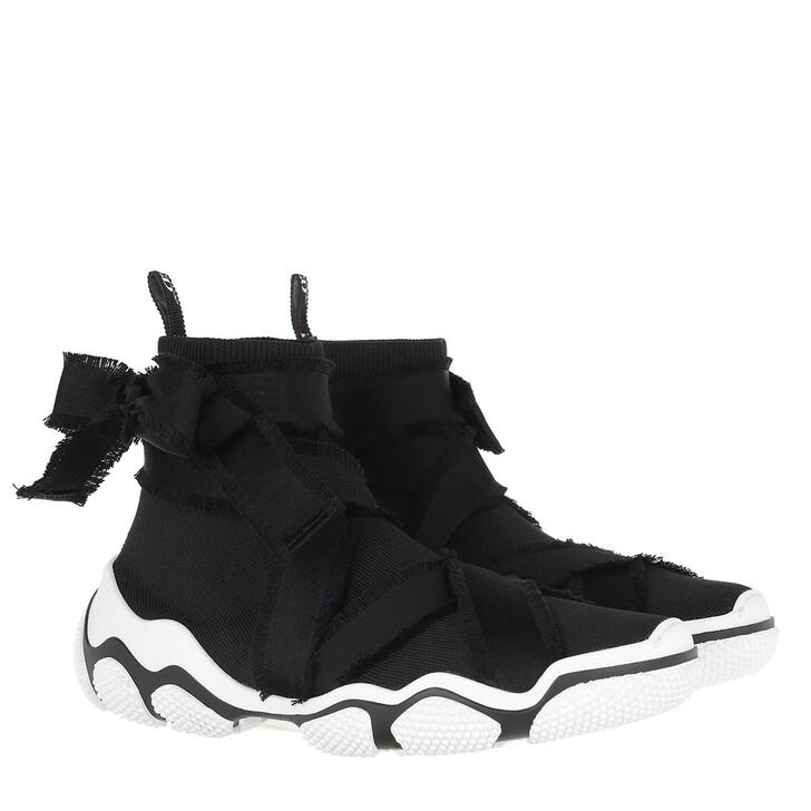shoes, Red Valentino, Sneaker Black/White Black