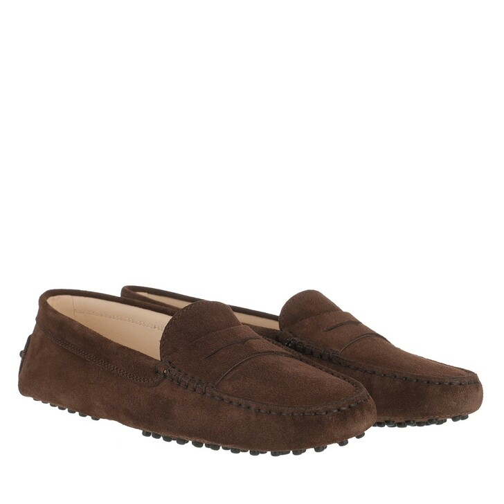 Schuh, Tod's, Gommini Mocassins Leather Brown