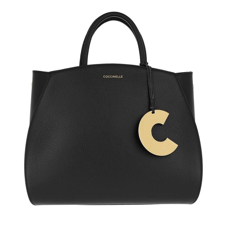 Handtasche, Coccinelle, Concrete Noir