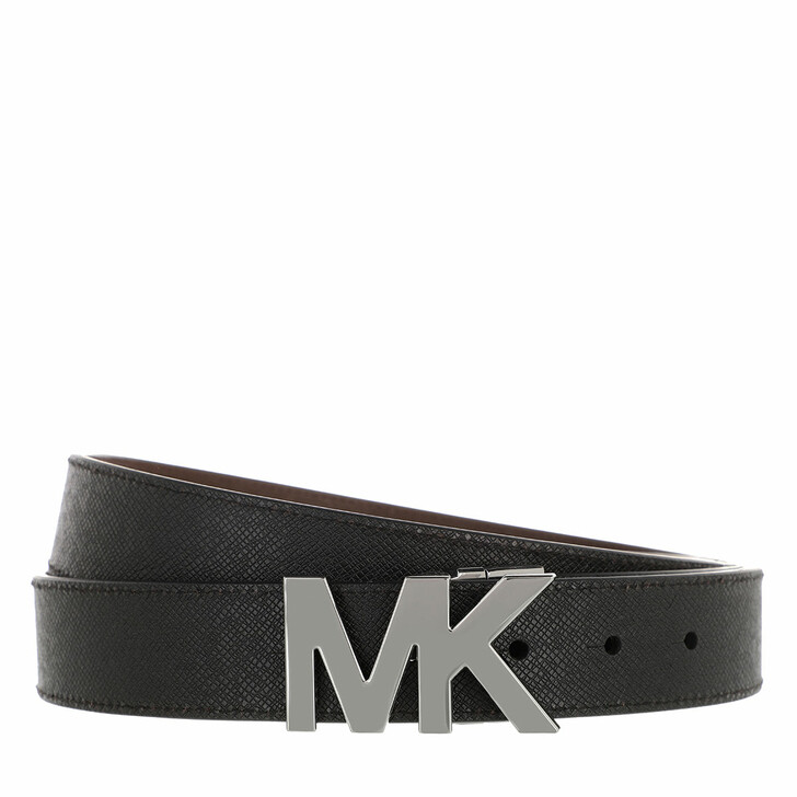Gürtel, MICHAEL Michael Kors, 4 In 1 Belt Box Set Black/Mocha