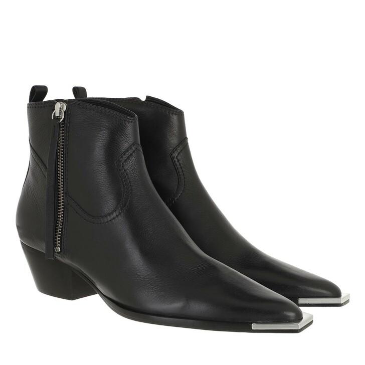 Schuh, Schutz, Block Heeled Boots Black