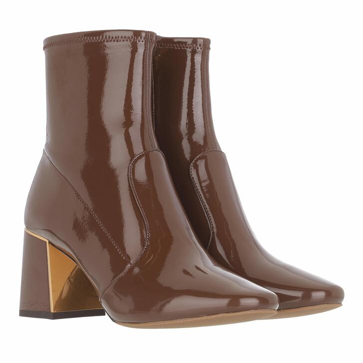shoes, Tory Burch, Gigi 70Mm Stretch Ankle Boot Fudge