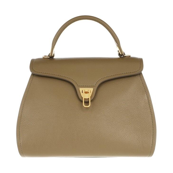 Handtasche, Coccinelle, Marvin Satchel Bag Moss Green