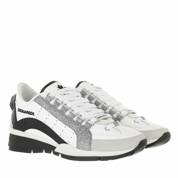 shoes, Dsquared2, Sneakers White/Black