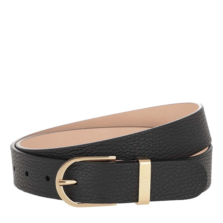 belts, AIGNER, Belt Casual 3cm Black