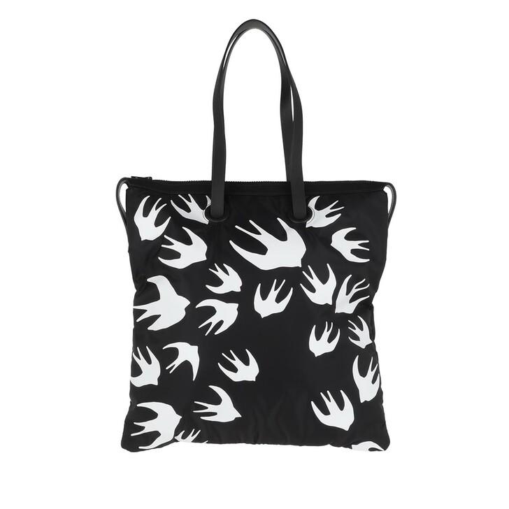 bags, McQ, Magazine Tote Black