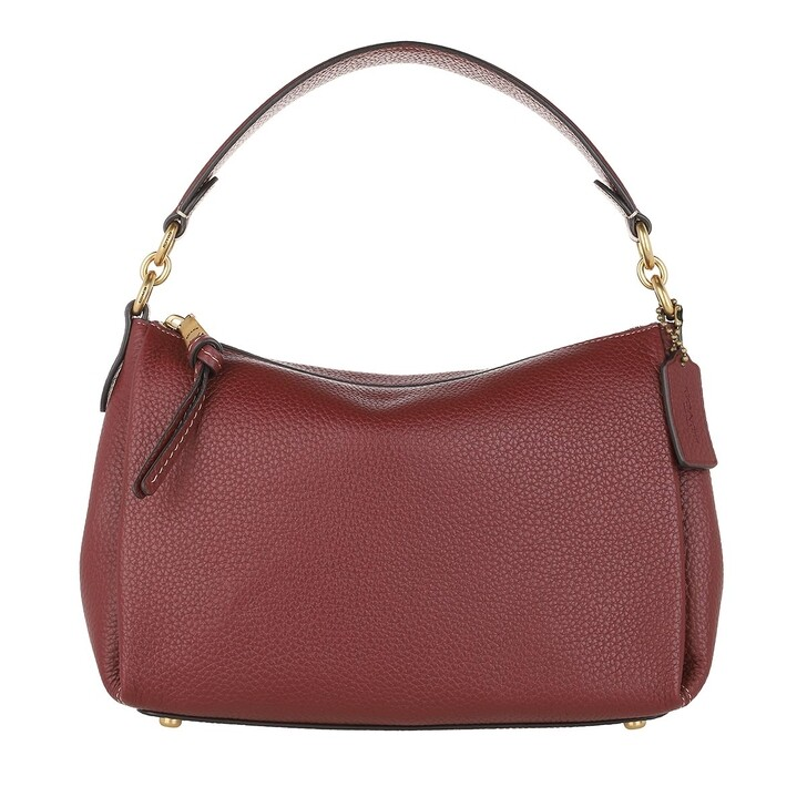 Handtasche, Coach, Soft Pebble Leather Shay Crossbody Wine