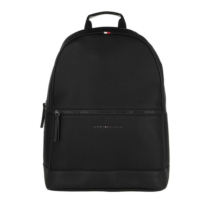 bags, Tommy Hilfiger, Essential Backpack Black