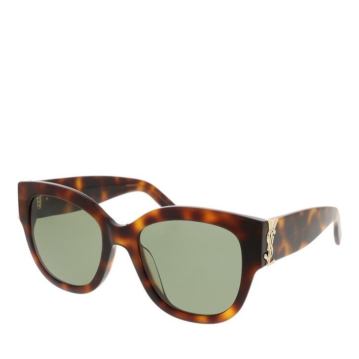 sunglasses, Saint Laurent, SL M95/F-003 56 Sunglass Woman Acetate Havana-Havana-Green