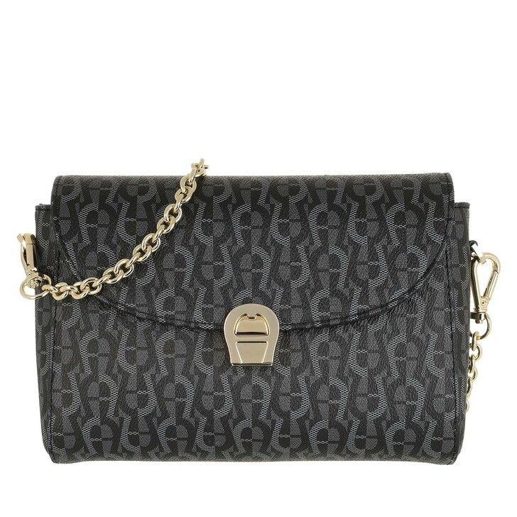 Handtasche, AIGNER, Zoe Crossbody Bag Black