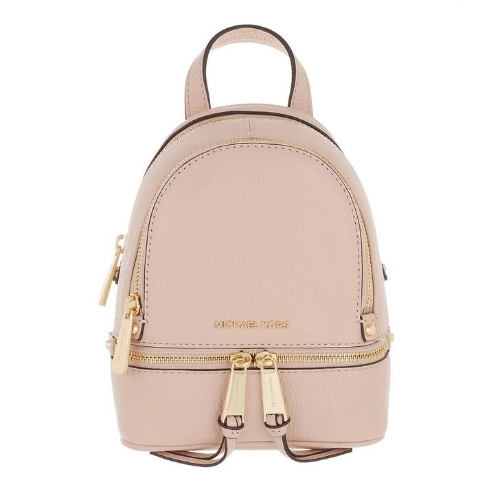 bags, MICHAEL Michael Kors, Xs Messenger Soft Pink