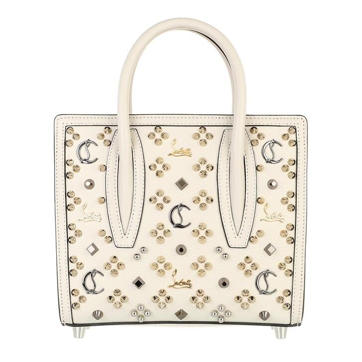 bags, Christian Louboutin, Paloma S Mini Bag Leather Craie/Multi