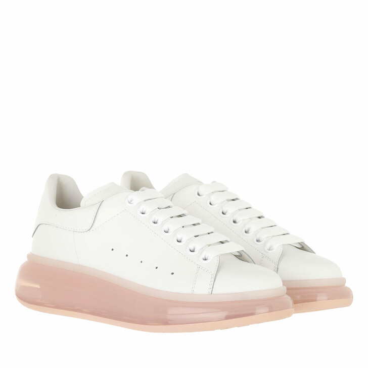 shoes, Alexander McQueen, Oversized Sneakers White/Rose Gold