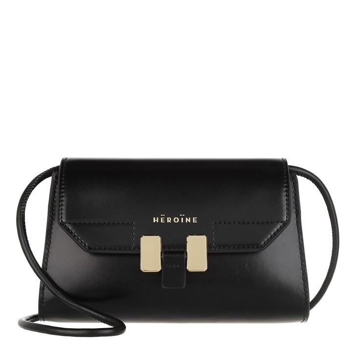 Handtasche, Maison Hēroïne, Lilia Nano Crossbody Bag Black