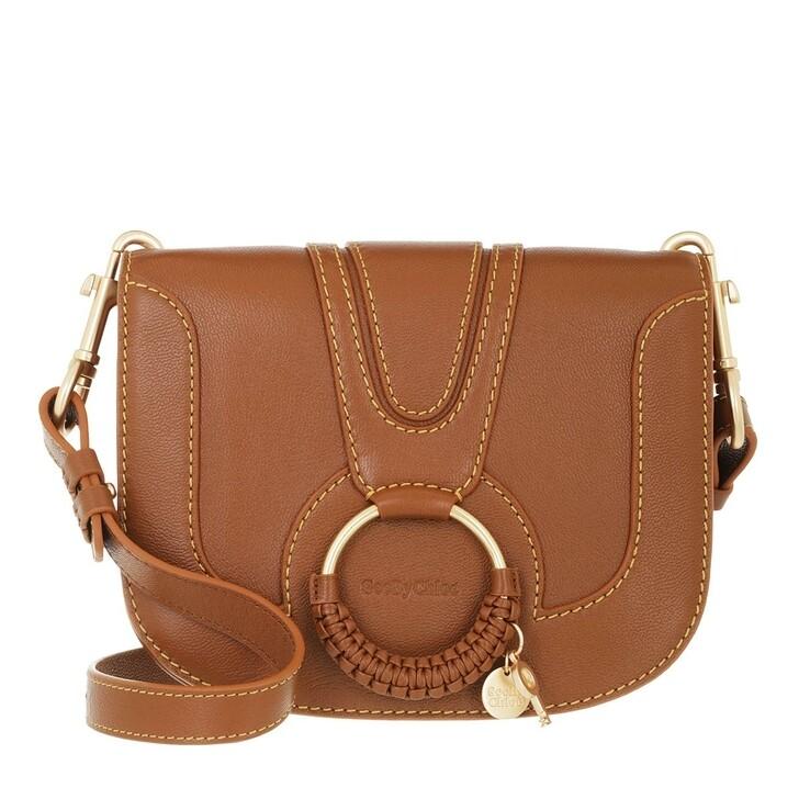 bags, See By Chloé, Hana Shoulder Bag Leather Caramel