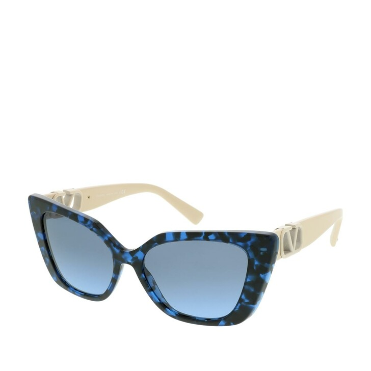 Sonnenbrille, Valentino, Women Sunglasses Allure 0VA4073 Havana Blue