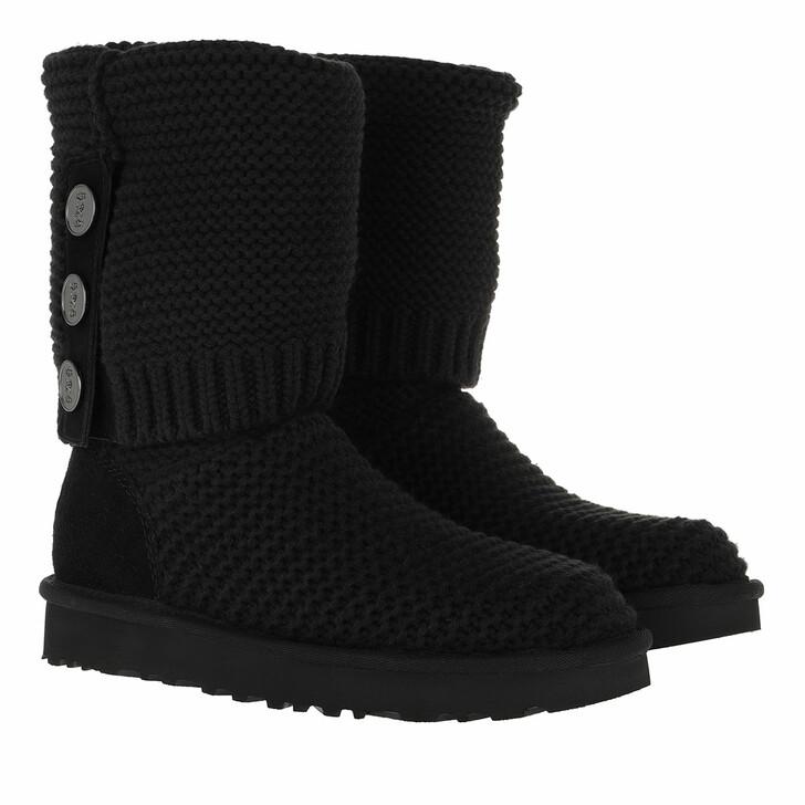 Schuh, UGG, W Purl Cardy Knit Black