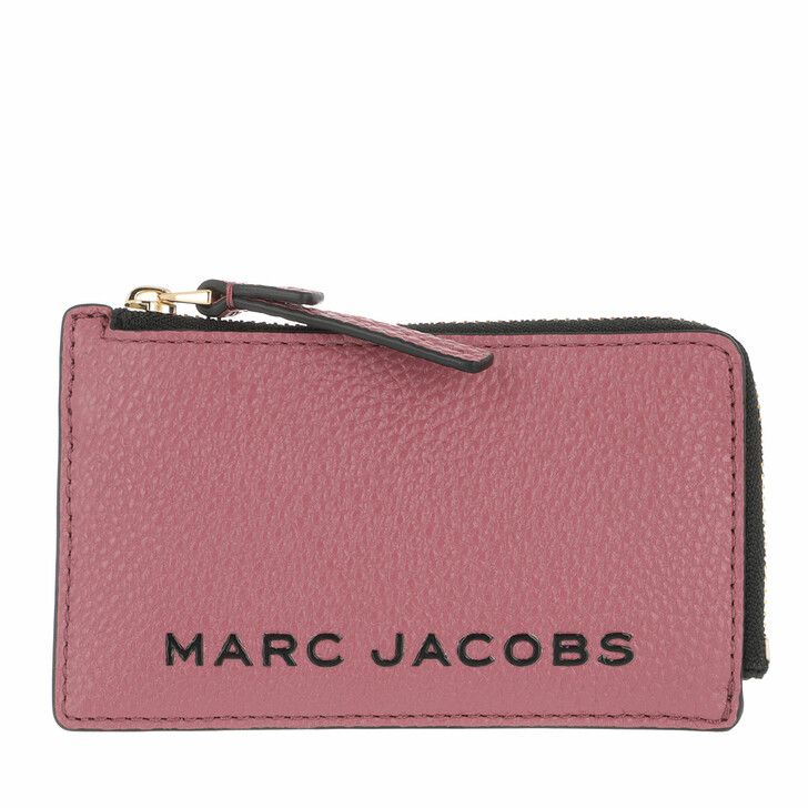 Geldbörse, Marc Jacobs, The Bold Small Top Zip Wallet Dusty Ruby