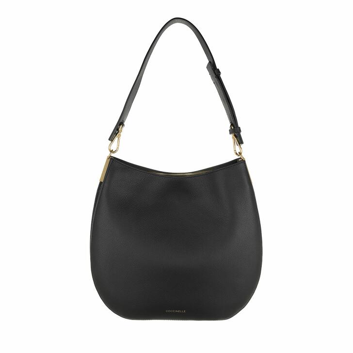 Handtasche, Coccinelle, Arpege Shopper Noir/Ash Grey