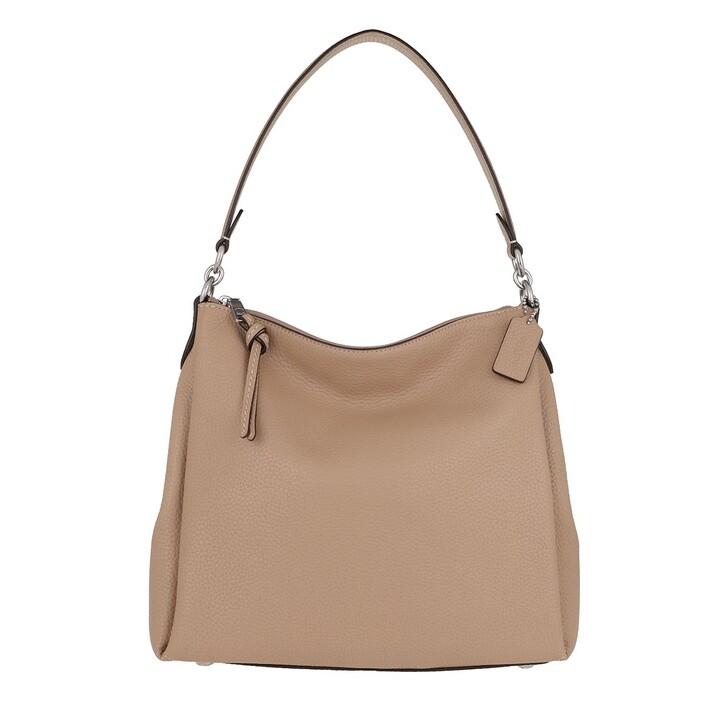 bags, Coach, Soft Pebble Leather Shay Shoulder Bag