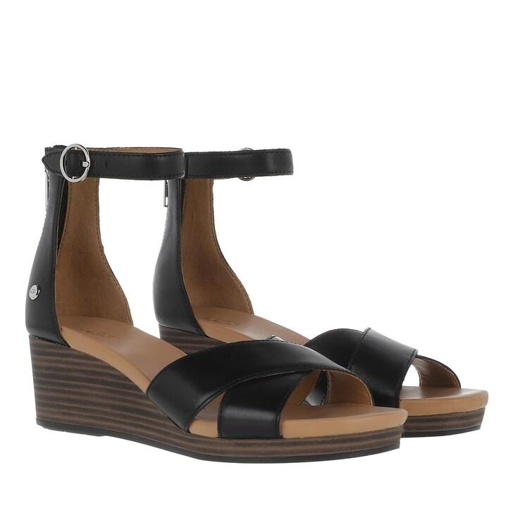 Schuh, UGG, Eugenia Sandal Leather Black