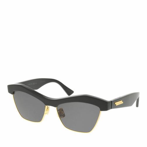 bottega veneta -  Sonnenbrille - BV1099S-001 57 Sunglass WOMAN ACETATE - in schwarz - für Damen