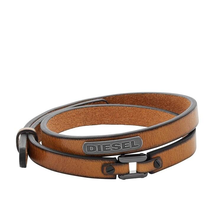 Armreif, Diesel, Bracelet DX0984040 Brown