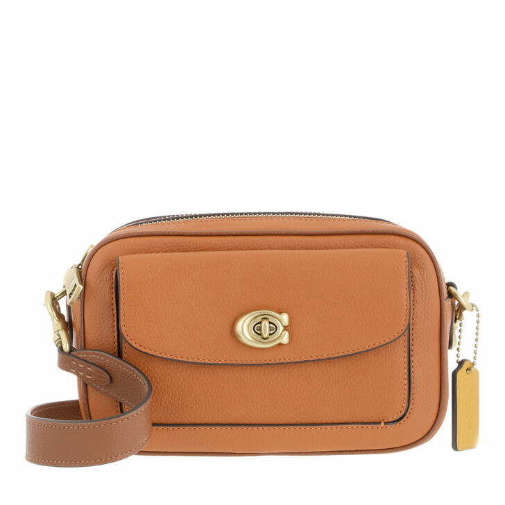 bags, Coach, Colorblock Leather Willow Camera Bag Canyon Multi