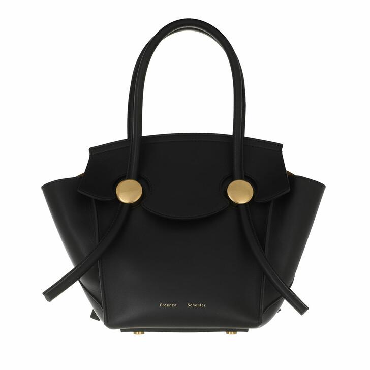 bags, Proenza Schouler, Small Pipe Bag Black