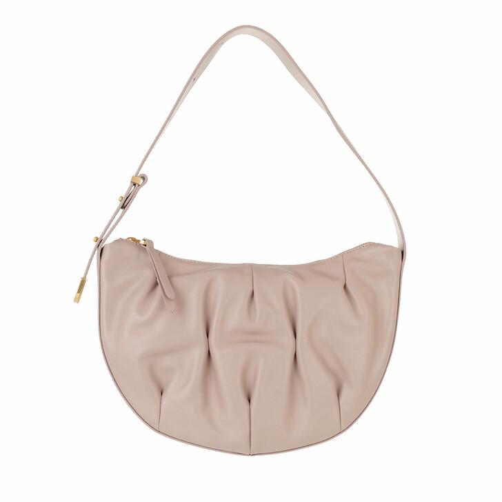 Handtasche, Coccinelle, Handbag Smooth Calf Leather Soft  Powder Pink
