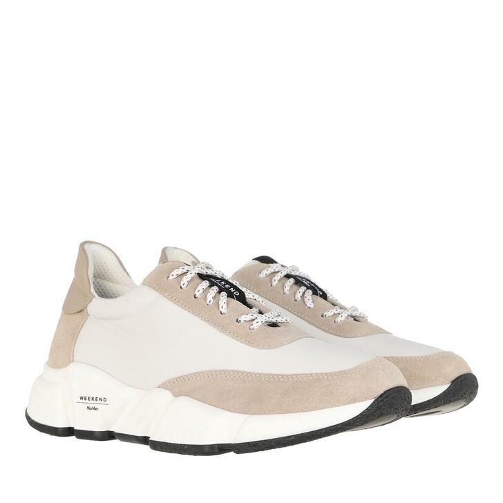 Schuh, WEEKEND Max Mara, Cigno Sneakers Optical White
