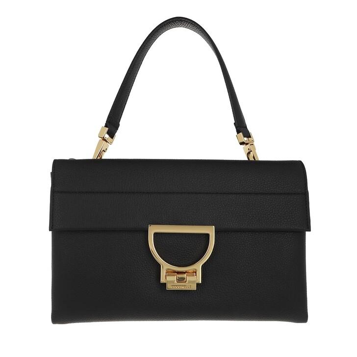 bags, Coccinelle, Arlettis Satchel Bag Black