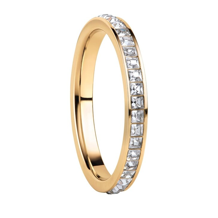 Ring, Bering, Women Ring Stainless Steel  Gelbgold