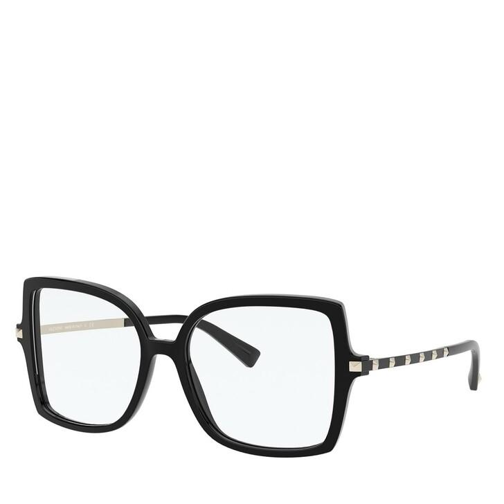 Brillen mit Gläsern, Valentino, Blue Blocker Azetat Women Sonne Black