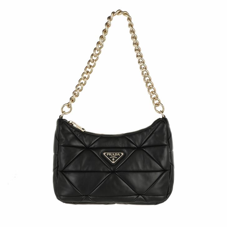 bags, Prada, Quilted Crossbody Bag Nappa Black