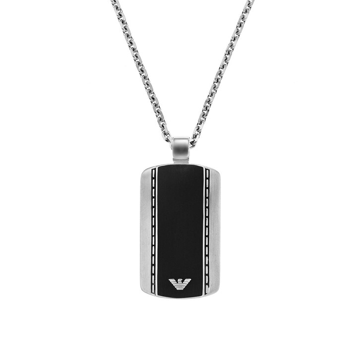 Kette, Emporio Armani, Signature Necklace Silver