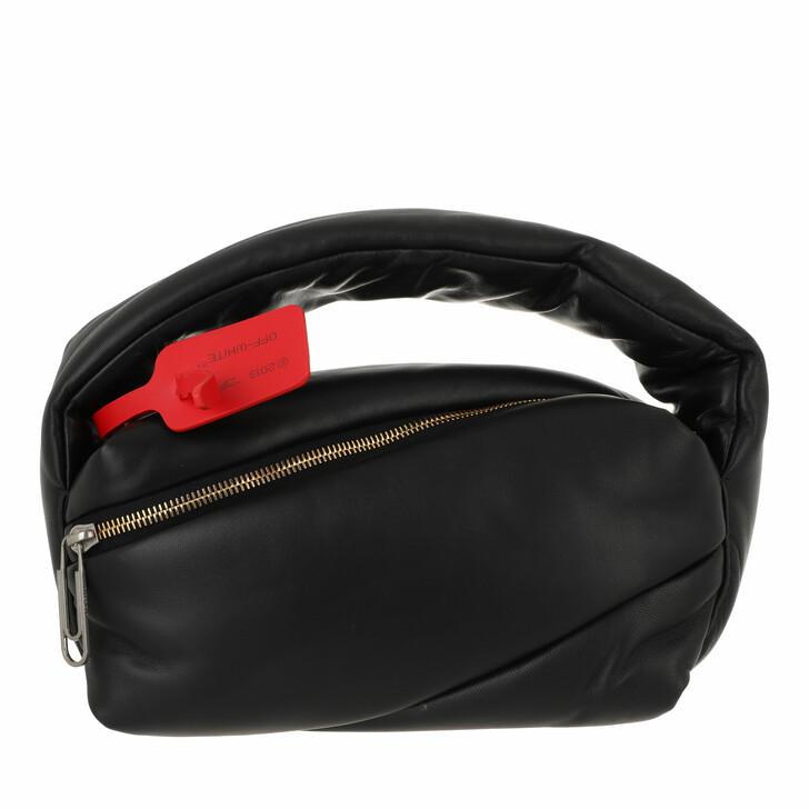 bags, Off-White, Pump Pouch Black