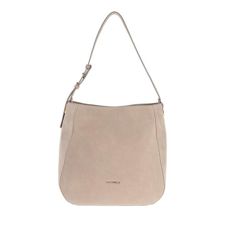 Handtasche, Coccinelle, Lea Suede Shopper Powder Pink