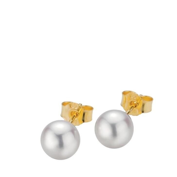 Ohrring, Gellner, Stud Earrings Cultured Akoya Pearl 7 Gold