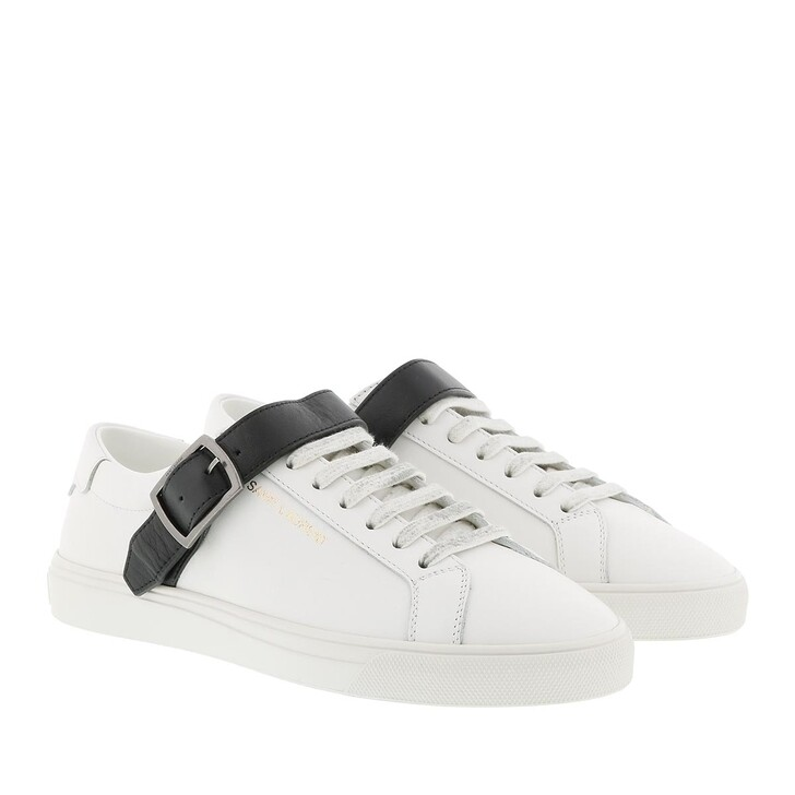 shoes, Saint Laurent, Andy Brooklyn Sneakers Optic White