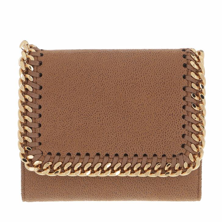 wallets, Stella McCartney, Falabella Small Flap Wallet  Deer