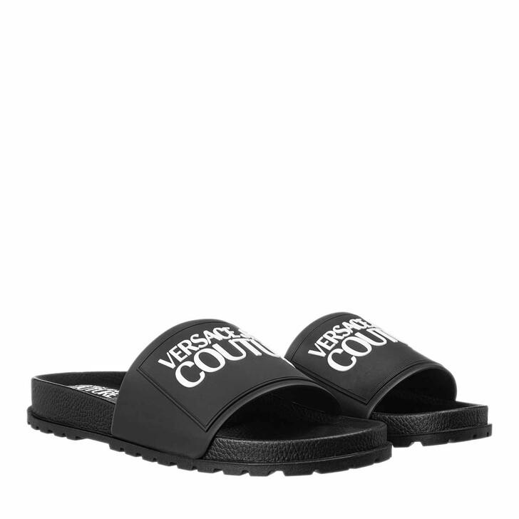 Schuh, Versace Jeans Couture, Linea Fondo Slides Black
