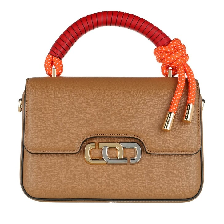 Handtasche, Marc Jacobs, The J Link Crossbody Bag Leather Dirty Chai