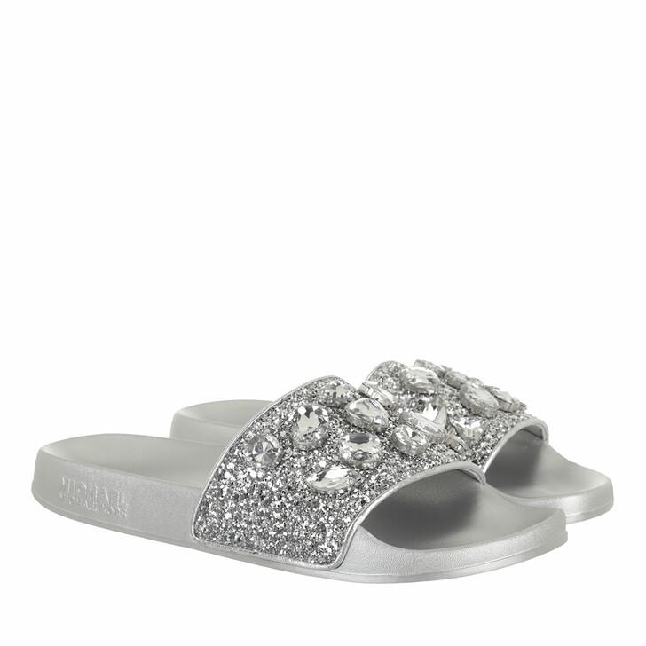 shoes, MICHAEL Michael Kors, Gilmore Slide Silver