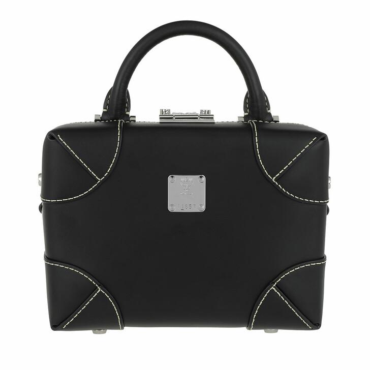 Handtasche, MCM, Soft Berlin Vachetta Crossbody Small Black