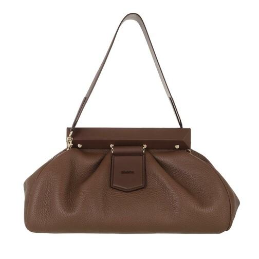 max mara -  Satchel Bag - Clutch Handbag - in braun - für Damen