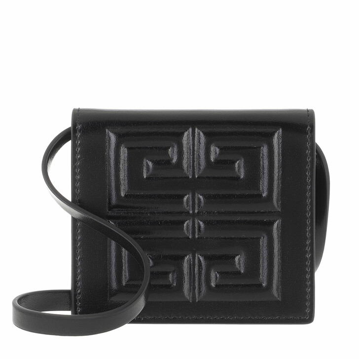 bags, Givenchy, Small Pouch Leather Black
